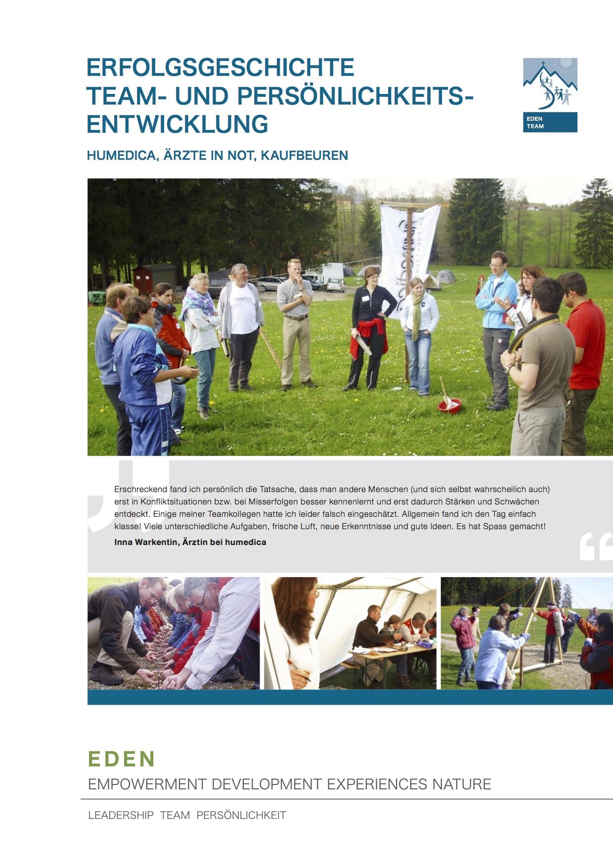 team_team_und_persoenlichkeitsentwicklung_eg_humedica